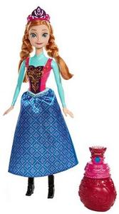 Giocattolo Disney Frozen. Anna principessa colori Mattel 0