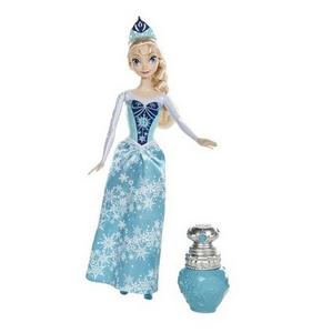 Giocattolo Disney Frozen. Elsa principessa colori Mattel 0
