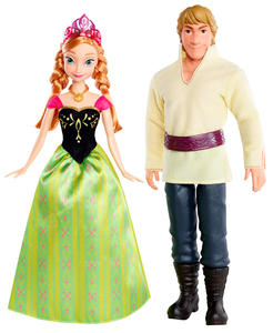 Giocattolo Disney Frozen. Anna & Kristoff Mattel