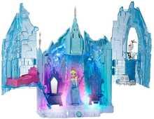Giocattolo Disney Frozen. Castello Luci di Ghiaccio Mattel