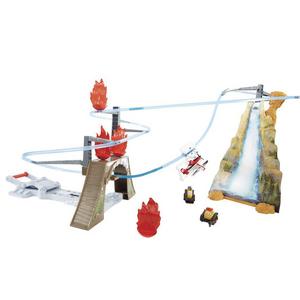 Giocattolo Planes. Playset Attacco dall'alto a Piston Peak Mattel 0