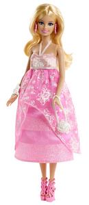 Giocattolo Barbie Gala in rosa Mattel 0