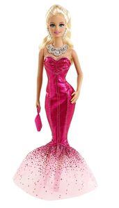 Giocattolo Barbie Gala in Rosa. Modello 3 Mattel