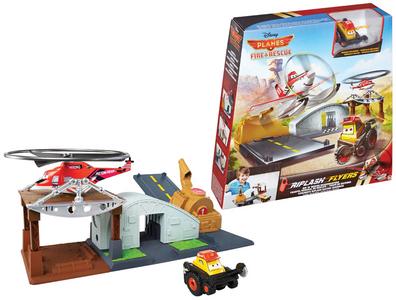 Giocattolo Planes Riplash Centro Comandi Mattel 0