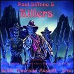 Live - CD Audio di Killers,Paul DiAnno