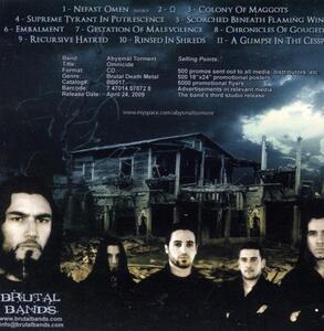 Omnicide - CD Audio di Abysmal Torment - 2
