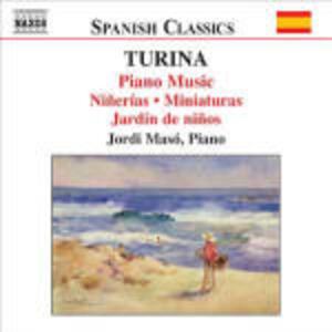 Opere per pianoforte vol.4 - CD Audio di Joaquin Turina