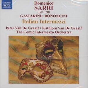 Moschetta e Giulio. Italian Intermezzi - CD Audio di Giovanni Battista Bononcini,Francesco Gasparini,Domenico Sarri