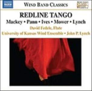Redline Tango - Mackey - Pann - Ives - Mower - Lynch - CD Audio