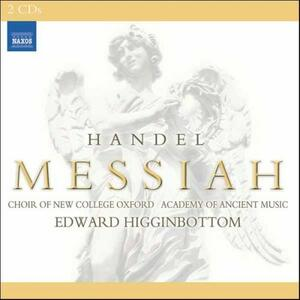 Il Messia - CD Audio di Academy of Ancient Music,Georg Friedrich Händel,Edward Higginbottom