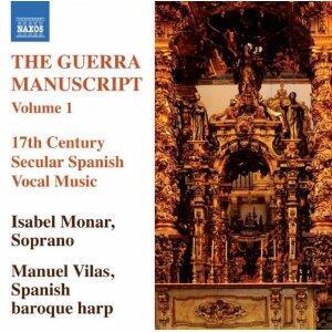 The Guerra Manuscript vol.1 - CD Audio