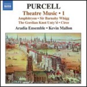 Theatre Music vol.1 - CD Audio di Henry Purcell,Kevin Mallon,Aradia Ensemble