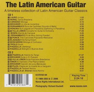 Latin America Guitar - CD Audio