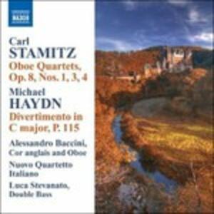 Quartetti per Oboe Op.8 n.1,3 e 4 - CD Audio di Carl Stamitz