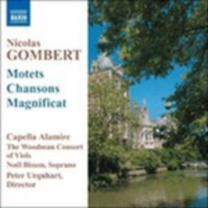 Motets and Chansons - CD Audio di Nicolas Gombert