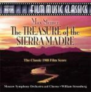 Treasure of the Sierra Madre - CD Audio di William T. Stromberg,Moscow Symphony Orchestra,Max Steiner