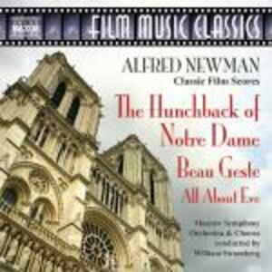 Il Gobbo di Notre Dame -, All About Eve - Beau Geste (Colonna Sonora) - CD Audio di Alfred Newman,William T. Stromberg,Moscow Symphony Orchestra