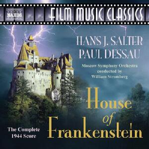 House of Frankenstein (Colonna Sonora) - CD Audio di Paul Dessau,Hans J. Salter,William T. Stromberg,Moscow Symphony Orchestra