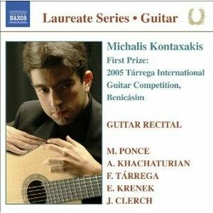 Guitar Recital - CD Audio di Michalis Kontaxakis