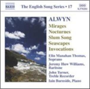 Seascapes - Invocations - CD Audio di William Alwyn