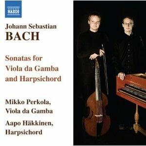 Sonate per viola da gamba BWV1027, BWV1028, BWV1029 - CD Audio di Johann Sebastian Bach