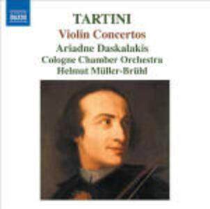 Concerti per violino D28, D50, D80, D96, D125 - CD Audio di Giuseppe Tartini