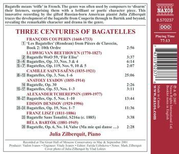 Three Centuries of Bagate - CD Audio di Julia Zilberquit - 2