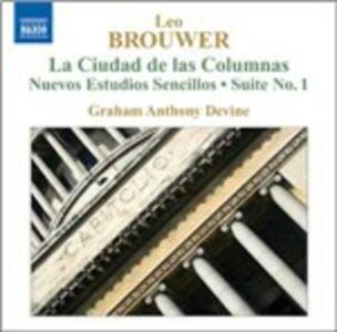 Musica per chitarra vol.4 - CD Audio di Leo Brouwer