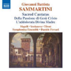 Cantate sacre - CD Audio di Giovanni Battista Sammartini