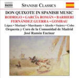 Don Quixote nella musica spagnola - CD Audio di José Ramon Encinar
