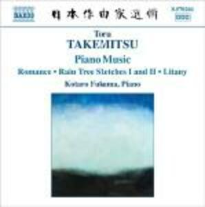 Romance - Rain Tree Sketches I, II - Litany - CD Audio di Toru Takemitsu,Kotaro Fukuma