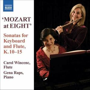 Keyboard And Flute Songs - CD Audio di Wolfgang Amadeus Mozart