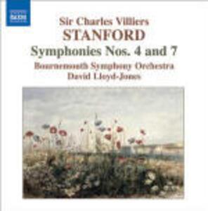 Sinfonie n.4, n.7 - CD Audio di Bournemouth Symphony Orchestra,David Lloyd-Jones,Sir Charles Villiers Stanford