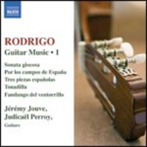 Musica per chitarra vol.1 - CD Audio di Joaquin Rodrigo
