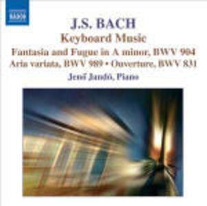 Fantasia Cromatica e Fuga BWV904 - Aria Variata BWV989 - Ouverture BWV831 - CD Audio di Johann Sebastian Bach,Jeno Jandó