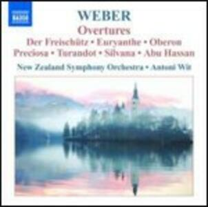 Ouvertures - CD Audio di Carl Maria Von Weber,Antoni Wit,New Zealand Symphony Orchestra