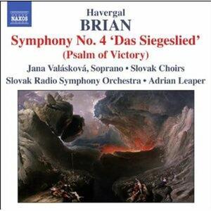 Sinfonie n.4, n.12 - CD Audio di Adrian Leaper,Havergal Brian,Slovak Radio Symphony Orchestra