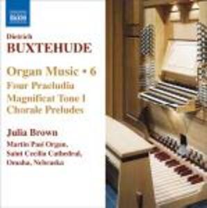 Musica per organo vol.6 - CD Audio di Dietrich Buxtehude,Julia Brown