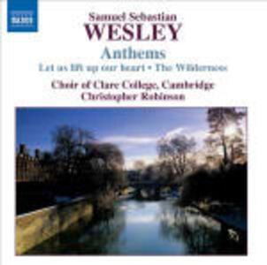 Anthems - CD Audio di Samuel Sebastian Wesley