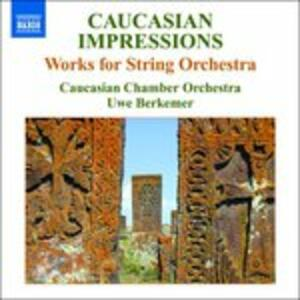 Works for String Orchestra - CD Audio