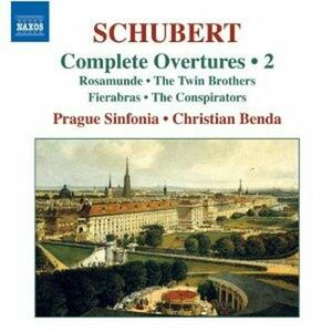 Ouvertures vol.2 - CD Audio di Franz Schubert,Christian Benda