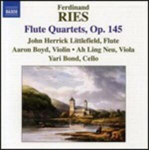 Quartetti con flauto op.145 - CD Audio di Ferdinand Ries