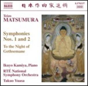 Sinfonie n.1, n.2 per pianoforte e orchestra - CD Audio di Takuo Yuasa,Teizo Matsumura,Ikuyo Kamiya,RTE Nation Symphony Orchestra