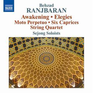 Awakening - Elegies - Moto perpetuo - 6 Capricci - Quartetto per archi n.1 - CD Audio di Behzad Ranjbaran