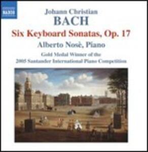 Sonate per strumento a tastiera op.17 - CD Audio di Johann Sebastian Bach,Alberto Nosé
