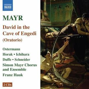 David in Spelunca Engaddi - CD Audio di Johann Simon Mayr