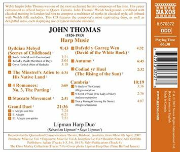 Harp Music/Scenes Of Childhood - CD Audio di John Thomas