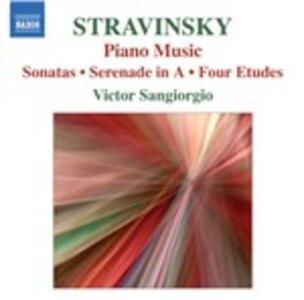 Musica per pianoforte solo - CD Audio di Igor Stravinsky