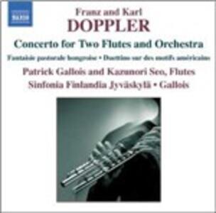 Musica per 2 flauti e orchestra - CD Audio di Patrick Gallois,Kazunori Seo,Franz Doppler,Karl Doppler
