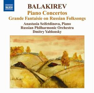 Concerti per pianoforte n.1, n.2 - CD Audio di Mily Alexeyevich Balakirev,Russian Philharmonic Orchestra,Dmitri Yablonsky